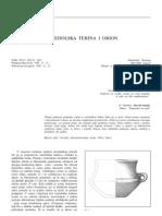 Durman - Vučedolska terina i Orion