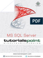 MS SQL Server Tutorialspoint