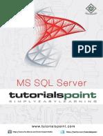 MS SQL Server Tutorialspoint