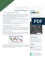 Transformasi Data Koordinat Geografis Menjadi UTM Dengan ArcGIS 10 _ Air Itu Mengalir