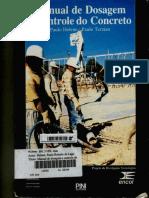 Manual de Dosagem e Controle de Concreto