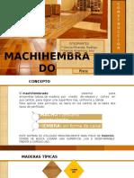 Construcción II - Machihembrado