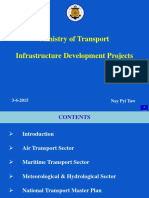 MOT - Infrastructure Development Projects
