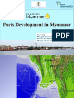 Port Development in Myanamr