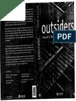 BECKER, H. Outsiders Estudos de sociologia do Desvio.pdf