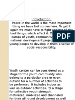 Case Study of Youth Center