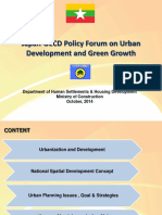 Japan OECD Policy Forum on Urban Development and Green Growth