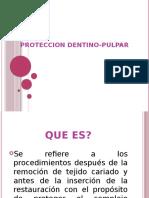 PROTECCION DENTINO-PULPAR