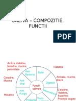 CURS Saliva Functii, Compozitie 1.1