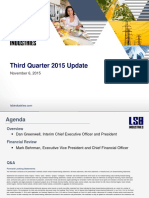 Q3 2015 Earnings Presentation - Final