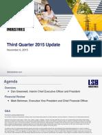 Q3 2015 Earnings Presentation - Final