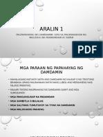 Aralin 1