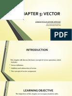 Ch5 Vectors