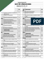 Cronograma de Clases Valientes 2013 lds