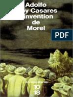 L'Invention de Morel - Adolfo Bioy Casares