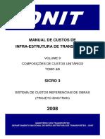 Composições - SICRO 3 - Ferrovia