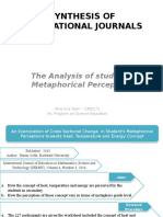 Synthesis of International Journals