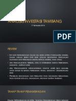 Analisis Investasi Tambang - Week 2