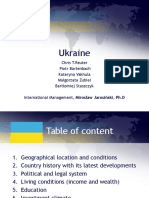 Ukraine - presentation about strengths and weaknesses
