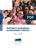 District Profile Fall 2015 FINAL