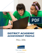 District Profile Fall 2016 FINAL