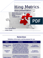 Marketing Metrics - presentation about