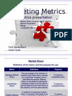 Marketing Metrics - presentation about