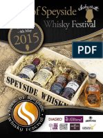 Spirit of Speyside Whisky Festival 2015 Brochure