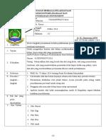 8.6.1.3 SOP Pemantauan Berkala Pelaksanaan Prosedur Pemeliharaan Dan Strelisasi Instrument