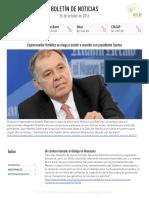 Boletín de noticias KLR 25OCT2016