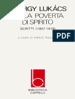 LUKÁCS. Sulla povertà di spirito.pdf