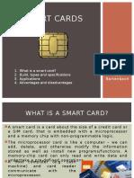 Short presentation about Smart Cards