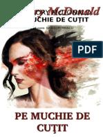 Gregory McDonald - Pe Muchie de Cutit [v.1.0]