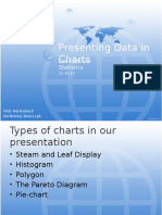 Presenting Data in Charts
