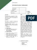 Aplicación de diseño de circuitos Combinacionales