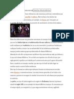 DEFINICIÓN DEDANZA FOLKLÓRICA