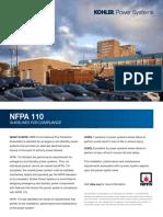 NFPA 110 Guidelines - Kohler
