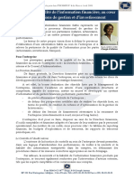 Qualite Et Fiabilite de l Information Financiere