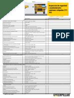 Safety & Maintenance Checklist Off Highway Trucks (777-797) (Esp)