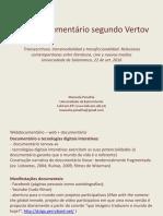 O webdocumentário segundo Vertov