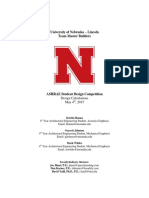 University of Nebraska Lincoln Design Calculations