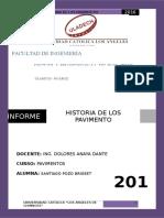 Informe Nº 01... Historia de Los Pavimentos