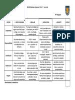 Rúbrica Analítica Coevalución-Autoevaluación