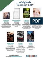 Penguin Random House eBook Originals - February 2017