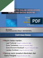 Data Batimetri Untuk Delimitasi Batas Maritim