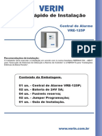 Verin - Manual VRE-125P