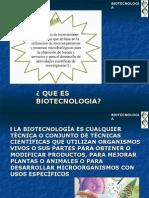 CARACTERISTICAS DE LA BIOTECNOLOGIA