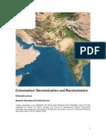 Colonization-Decolonization-Recolonization
