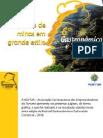 Relatório e Clipping do 6º Festival Gastronômico e Cultural de Carrancas