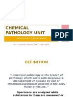 Chemical Pathology HO